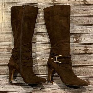 Antonio Melani Juliane Suede Leather Boots 10M